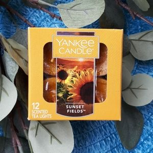 """Yankee Candle """"Sunset Fields"""" Retired Scent"""